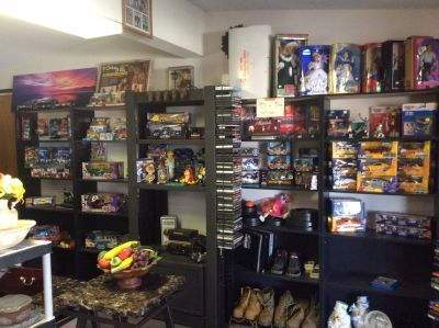 And all kinds of diecast collector cars and other collectibles