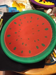 New no tags watermelon flying disc