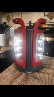 Coleman CPX 6 compatible camping lights used as one or take a part as two