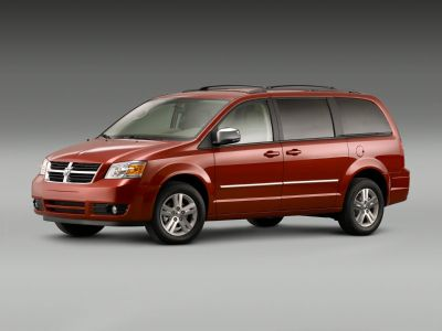 2008 Dodge Grand Caravan SXT (Bright Silver Metallic Clearcoat)
