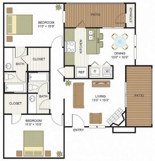 $1055 2 apartment in Tarrant County