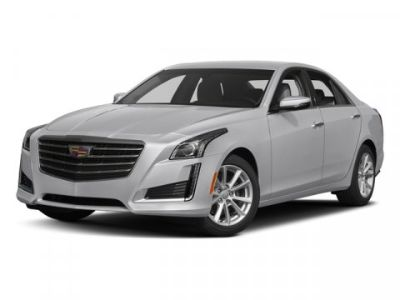 2018 Cadillac CTS Sedan Luxury AWD (Crystal White Tricoat)