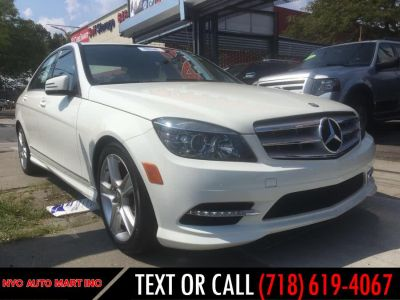 2011 Mercedes-Benz C-Class C300 4MATIC Luxury (White)