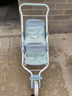 American girl double jogging stroller