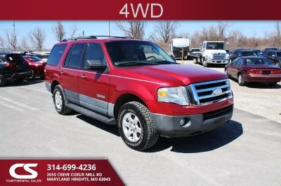 2007 Ford Expedition XLT (Redfire Metallic - Maroon)