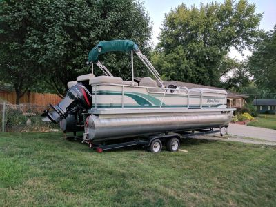 Pontoon- 1999 Aqua Patio 24'