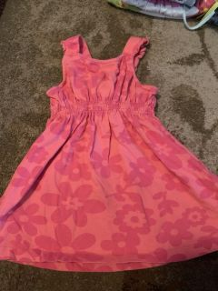 Savannah 12m pink print dress - ppu (near old chemstrand & 29) or PU @ the Marcus Pointe Thrift Store (on W st)