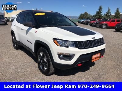 2017 Jeep Compass Trailhawk (White Clearcoat)