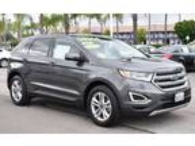 Used 2015 Ford Edge Gray, 69.2K miles