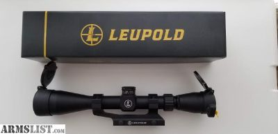 For Sale: Leupold Mark AR MOD-1 3-9x40mm Scope and Rings