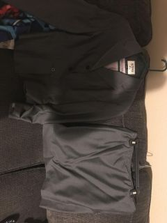 Gray suit with skirt size 4