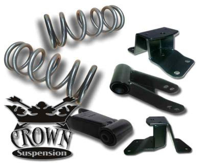 Sell 1988-1998 Silverado C1500 3/4 Lowering Drop Kit Coils Springs Hangers Shackle V8 motorcycle in Corona, California, US, for US $280.00