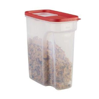 Rubbermaid Flip-Top Cereal and Food Storage Container, 18 Cup/