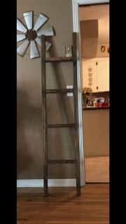 Gorgeous 55 hand made ladders!