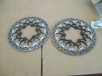 Sell 08 09 SUZUKI GSXR 600 750 ROTORS GSX-R LEFT RIGHT FRONT ROTORS 600 750 motorcycle in Stanton, California, United States, for US $115.00