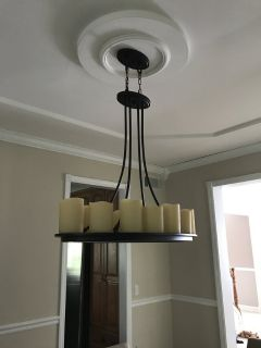 Like New 1 year old Candle Chandelier
