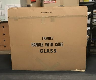 Large picture frame moving box