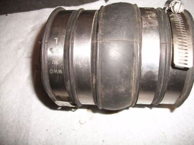 "Purchase Exhaust Bellow 3"" x 3"" and 4 1/2"" long motorcycle in Independence, Missouri, United States, for US $15.00"