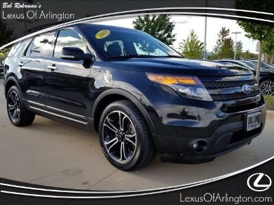 2013 Ford Explorer Sport (Black)