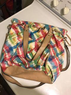 InStyle cross body bag. Super cute. The inside has a couple stains but good condition