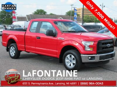 2015 Ford F-150 XL (Race Red)