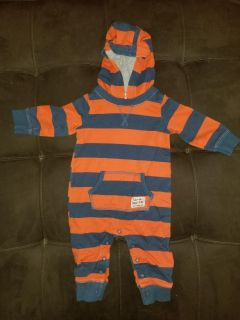 6 month hooded outfit. More boys clothes on my page