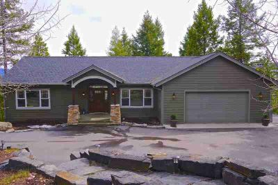 260 Westridge Drive Somers Four BR, Perched above Flathead Lake