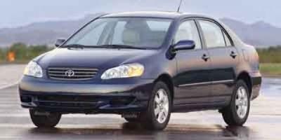 2004 Toyota Corolla CE (Silver)