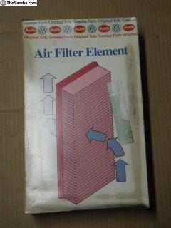 NOS Air Filter 88 89 90 91 92 Golf Jetta 19112962