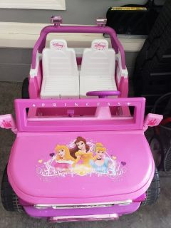 12v Powered Ride on Princess Toyota pink Car