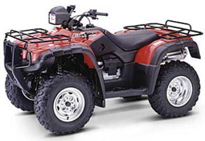 2004 Honda Fourtrax Foreman Rubicon GPScape Utility ATVs Erie, PA