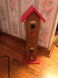 Very heavy duty bird house
