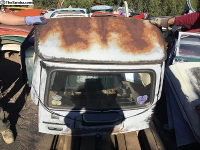 1968 squareback rear hatch and roof assembly