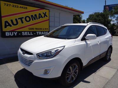 2014 Hyundai Tucson Limited (White)