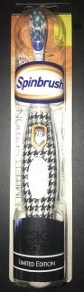 NIP limited edition Spin Brush battery operated toothbrush
