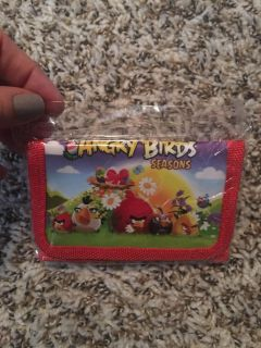 BRAND NEW Angry Birds Wallet
