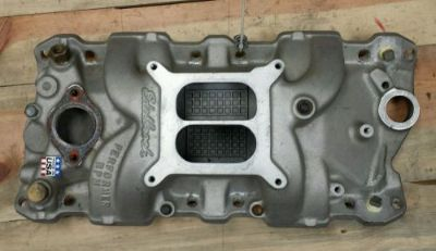 Sell Edelbrock 7101 performer rpm alu. Intake to fit Dart racing heads gm chevrolet motorcycle in Berlin, Connecticut, United States, for US $129.00