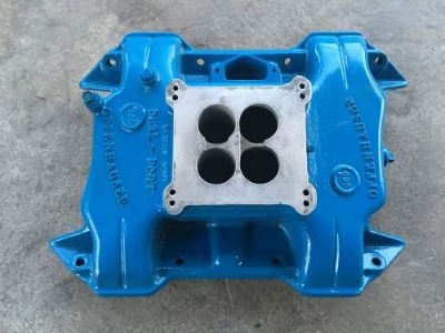 Purchase Mopar Offy Offenhauser Dual Port 360 Plane Aluminum Intake Manifold 413 440 motorcycle in Canoga Park, California, United States, for US $125.00