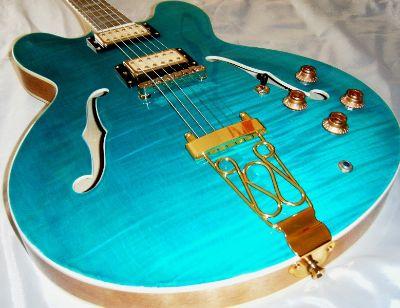 Hawkins Hollow Body Guitar HB-35 Electric Guitar