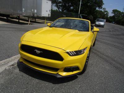 2017 Ford Mustang EcoBoost Premium Convertible (Triple Yellow Tri-Coat)