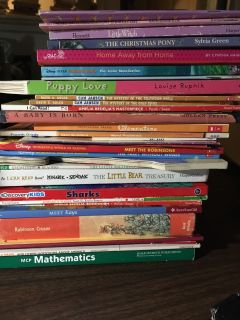 Lot of 33 Children's Books-All for $3.00