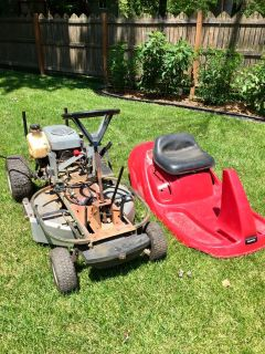 Honda Harmony Ride-On Mower.