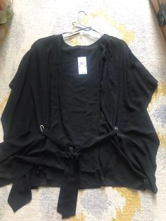Women s polyester top, 1X