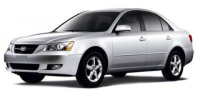 2007 Hyundai Sonata LX (White)