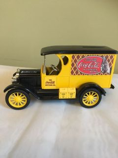 Brand New metal toy car CocaCola