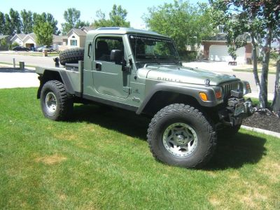 2003 Hemi jeep tj wrangler pickup Brute