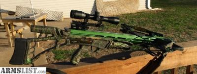 For Sale/Trade: Carbon Express Covert SLS crossbow w/extras