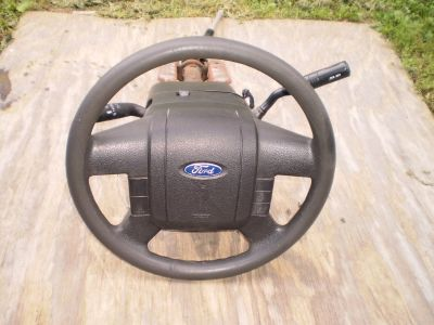 04 05 06 FORD F150 STEERING COLUMN COLUMN SHIFT NEW STYLE TILT AIRBAG AND KEY