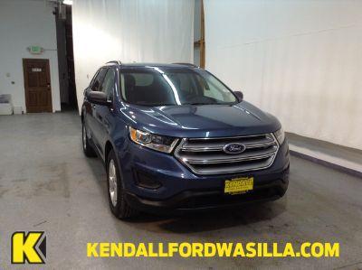 2018 Ford Edge SE AWD (Blue Metallic)