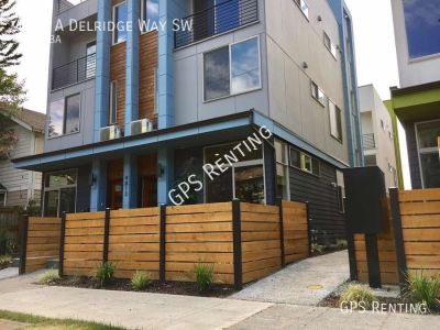 Recently Built ModernTownhome in West Seattle!
